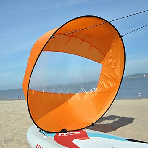 Flashsolar 42'' Downwind Wind Paddle Popup Board Kayak Sail Kit Kayak Wind Sail Kayak Accessories, Easy Setup & Deploys Quickly, Compact & Portable by Flashsolar