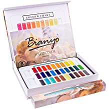 Bianyo Professional Watercolor Set- 30 Vibrant Colors- Watercolor Paper-Brushes-Palette for Artist Painting,Coloring