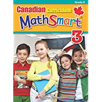 Canadian Curriculum MathSmart 3: A concise Grade 3 math workbook packed with practice, explanations, and tips
