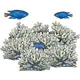 Underwater Blue Coral Reef Wall Sticker Mural