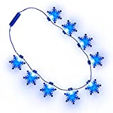 Light-up Snowflake Necklace