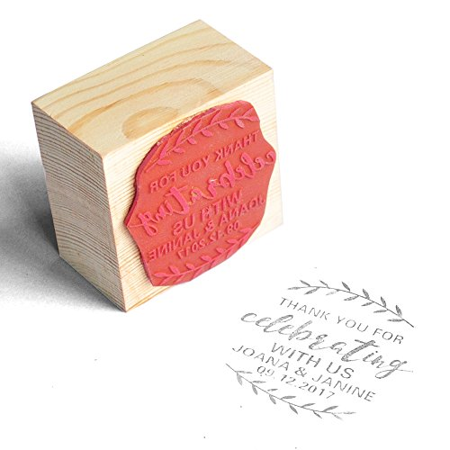 - Personalized Wedding Stamp, Wood Stamp,Wedding Invitation,Thank You Stamp, Rubber Stamp