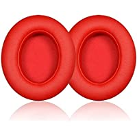 Orchidtent Replacement Ear Pad Cushion Ear Cushion Pads Earpads Ear Cups Repair for Beats by Dr. Dre Studio 2.0 / Studio 2.0 Wireless Headphone (RED)
