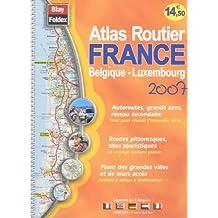 Atlas routier France belgique - luxembourg