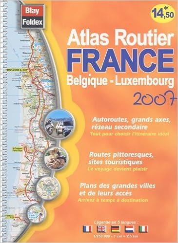 Lire en ligne Atlas routier France belgique - luxembourg epub, pdf