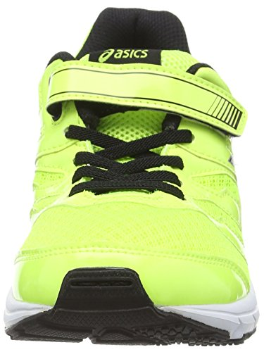Asics Gel-zaraca 4 Ps - Zapatillas de running Unisex Niños Amarillo (Flash Yellow/Black/Silver 0790)