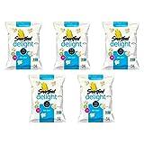 Smartfood Delights Sea Salted Popcorn, 5 Ounce (5 PACK)