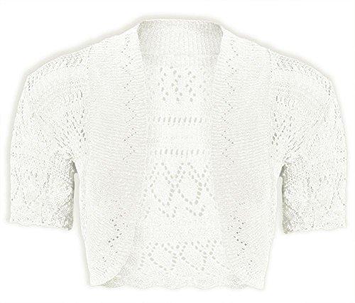 Girls Bolero Knitted Cardigan Shrugs