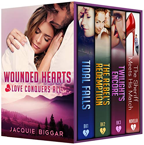 Wounded Hearts: Love Conquers All (A Romantic Suspense Collection)