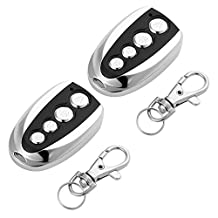 XCSOURCE 2pcs Electric Cloning Universal Gate Garage Door Opener Remote Control Fob Replacement Key Fob HS643