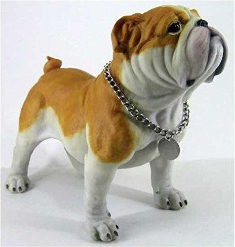 Retired C & F Trading Co. Standing Bulldog Puppy Figurine (Figurine Dog Puppy)