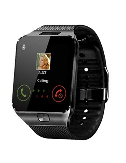 DZKQ Bluetooth Smart Watch Smartwatch Cámara Hombres Mujeres ...