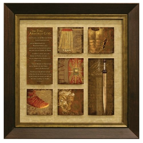 Carpentree The Full Armor of God Framed Art by Carpentree
