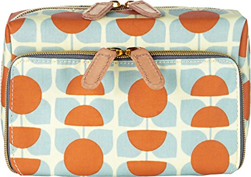 Orla Kiely Square Flower Print Medium Wash Bag by Orla Kiely