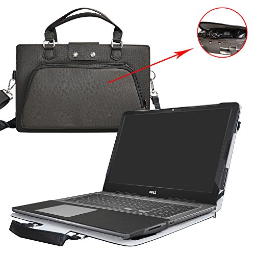 565 Case,2 in 1 Accurately Designed Protective PU Leather Cover + Portable Carrying Bag for 15.6