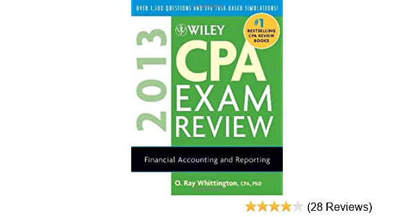 Wiley cpa exam review 2013 financial accounting and reporting o wiley cpa exam review 2013 financial accounting and reporting o ray whittington 9781118277225 amazon books fandeluxe Images