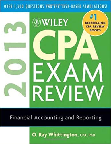 Wiley cpa exam review 2013 financial accounting and reporting o wiley cpa exam review 2013 financial accounting and reporting 10th edition fandeluxe Choice Image