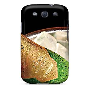 Marthaeges Snap On Hard Case Cover Drink Time Protector For Galaxy S3