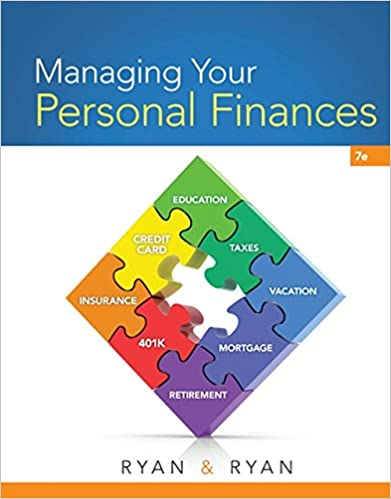 Managing Your Personal Finances: Joan S  Ryan, Christie Ryan