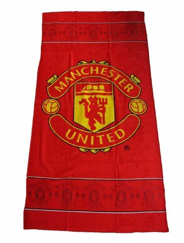 Manchester United Shower Towel by Linenideas