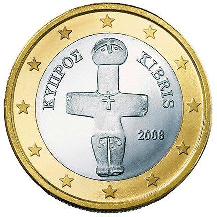 1 Euro Münze Zypern Amazonde Elektronik