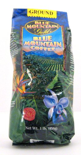 Coffee Blue Gourmet Mountain - Blue Mountain Coffee Gourmet Blend 1 Lb. Ground