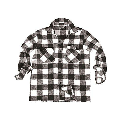 Chemise Canadienne noir/blanc