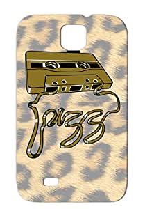TPU Cassette DJ Audio Cassettes Music Music Jazzy Tape Jazz Tapes Brown Flex Cover Case For Sumsang Galaxy S4