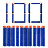 100 nerf gun bullets - QUN FENG Refill Bullet Darts 100 Pack for Ammo Nerf N-strike Modulus Elite Bullets Blasters Rebelle Dart Guns Toy for boys,blue