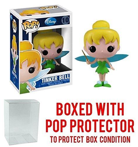 (Funko Pop! Disney Series 1: Tinker Bell Vinyl Figure (Bundled with Pop BOX PROTECTOR)