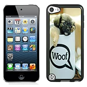 New Personalized Custom Designed For iPod Touch 5th Phone Case For Cup Puppy Phone Case Cover