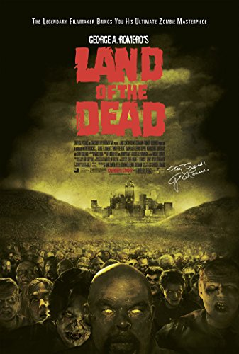 LAND OF THE DEAD MOVIE POSTER 1 Sided ORIGINAL GEORGE A. ROMERO