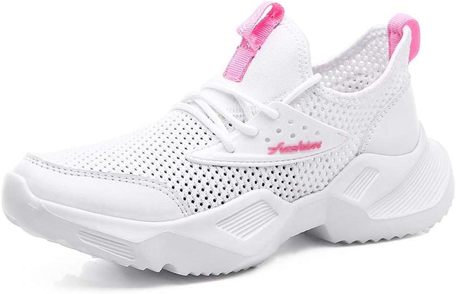 ZARLLE Zapatillas De Deporte Zapatos Respirado Ligero Moda Malla Mujeres Deporte Running Zapatillas Sacudir Casual Zapatos Height-Increasing Sneaker: Amazon.es: Ropa y accesorios