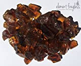 Chestnut/Brown Large 1/2'-1' Fire Pit Fire Glass 10lbs