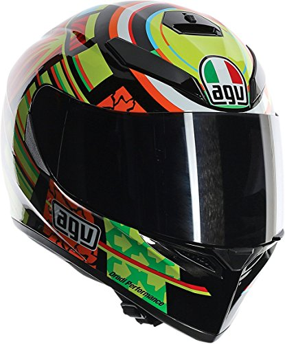 Elements Helmet (AGV K3 SV Top Elements Helmet Medium-Large) - DOT Approved)