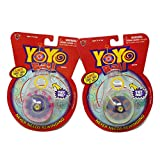 Big Time Toys Yoyo Ball Automatic Return Yoyo - 2 Pack - Colors Will Vary, Multicolor