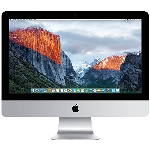 "Apple iMac Retina 4K 21.5"" All-in-One Computer Intel i5-5675R QuadCore 3.1GHz 8GB 1TB - 2015 - MK452LL/A (Certified Refurbished)"