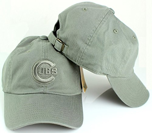 Chicago Cubs MLB American Needle Tonal Ballpark Slouch Cotton Twill Adjustable Hat (Moss) - American Series Ball Glove