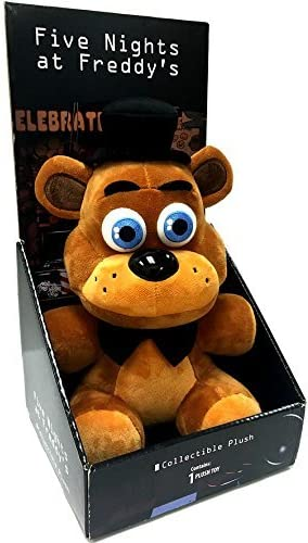 Five Nights at Freddys Officially Licensed 10 Boxed Freddy Fazbear Plush Toy FIVE NIGHTS AT FREDDY/'S