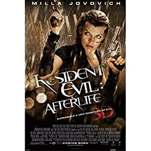 Amazon.com: Resident Evil Afterlife 3D Movie Poster Milla ...