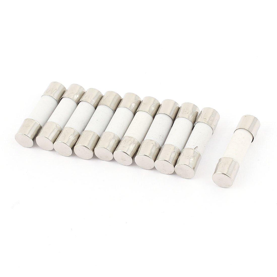 100/250/V 800/mA 0,8/A Schnell Blow Keramik Sicherungen 5/mm x 20/mm
