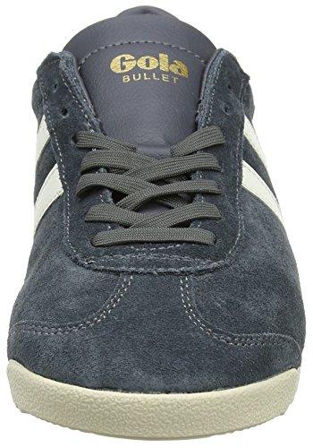 Gola Heren Kogel Suède Mode Sneaker Grafiet / Gebroken Wit