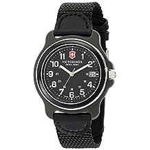 Victorinox Men's 249090 Original Analog Display Swiss Quartz Black Watch