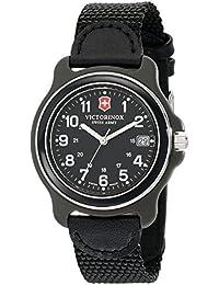 Men's 249090 Original Analog Display Swiss Quartz Black Watch