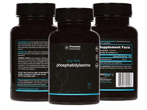 Phosphatidylserine 60 Count - Soy-Free - Premium Essentials