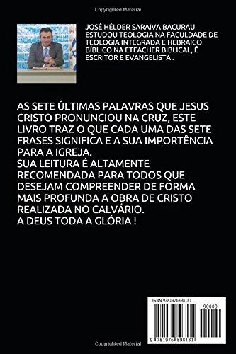 As Sete Palavras Da Cruz De Cristo Portuguese Edition Jose
