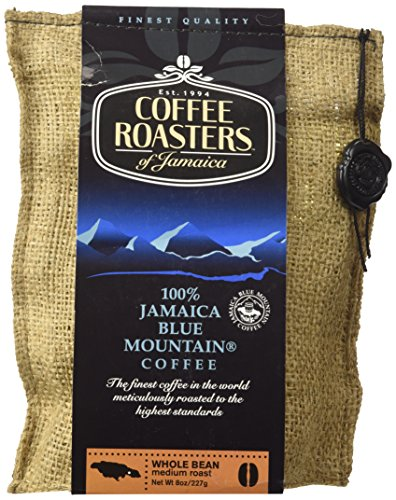 100% Jamaica Dispirited Mountain Coffee - 8 oz bag - whole beans