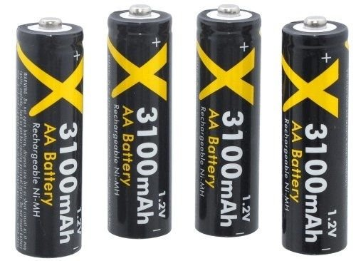 Nimh Power Hi Battery (ULTRA HI POWER 4 AA BATTERY FOR KODAK EASYSHARE SPORT C123 C1450)