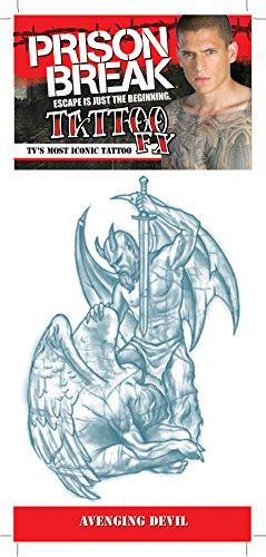 Prison Break Avenging Devil Tattoo by Morris Costumes]()
