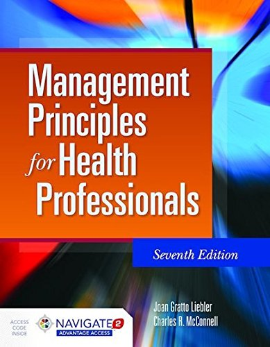 128408132X - Management Principles for Health Professionals